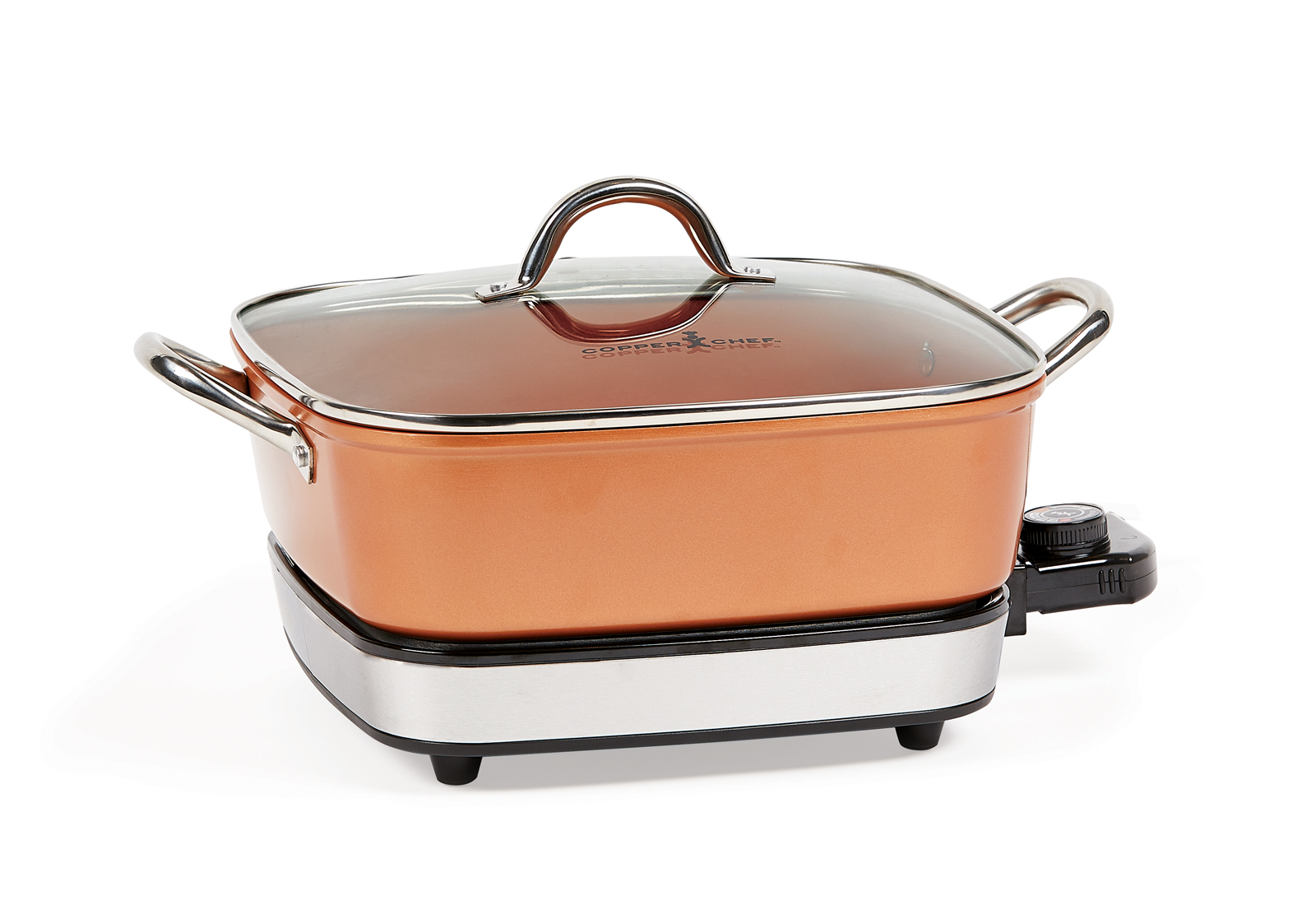 Copper Chef Removable Electric Deep Skillet Product Image