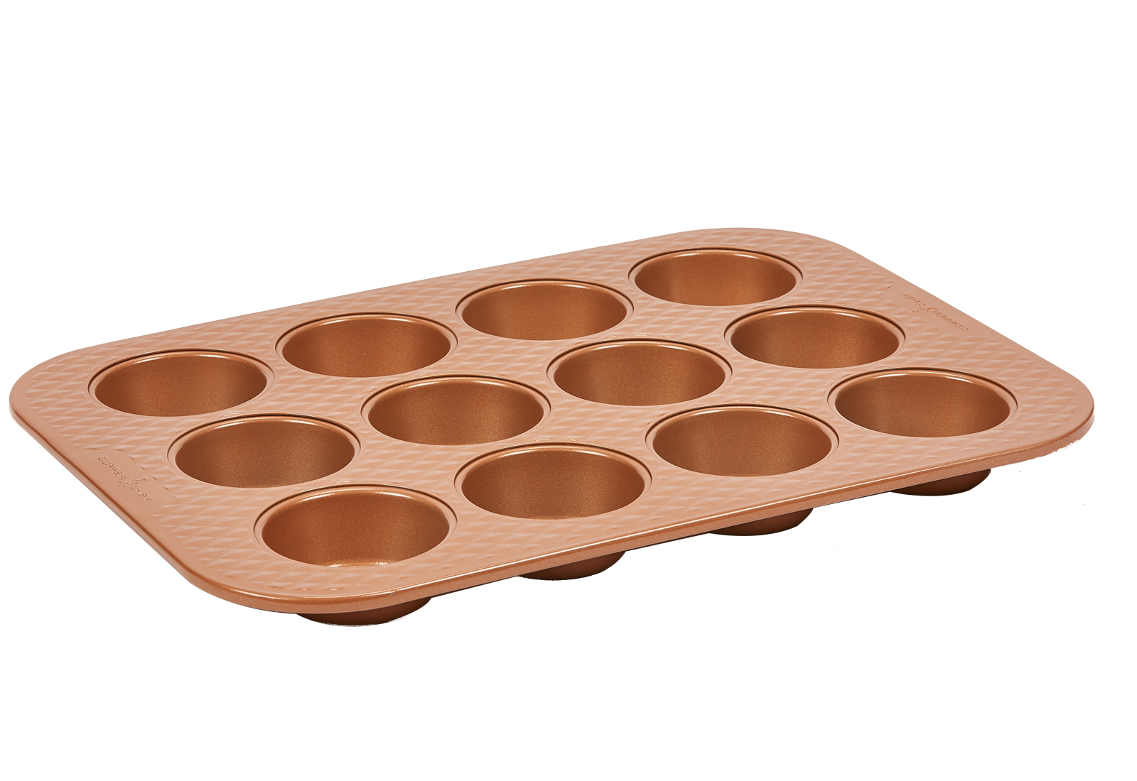 Copper Chef Diamond 12-Cup Muffin Pan Product Image