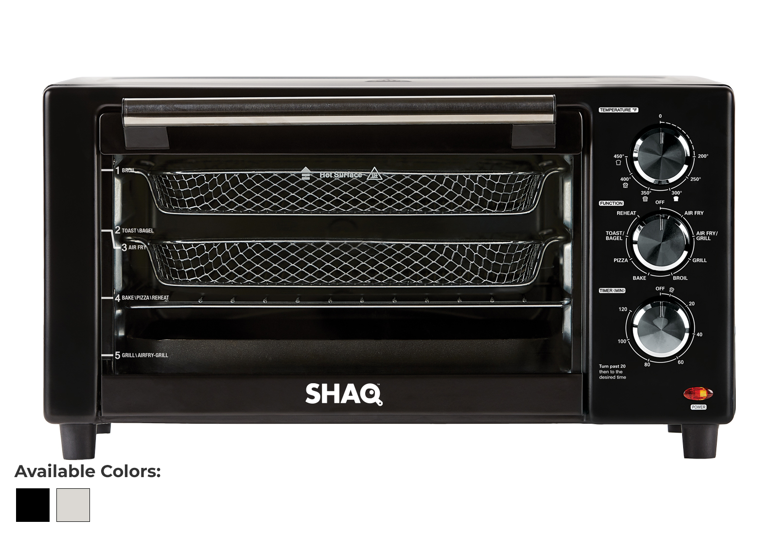 SHAQ Air Fryer Grill Product Image
