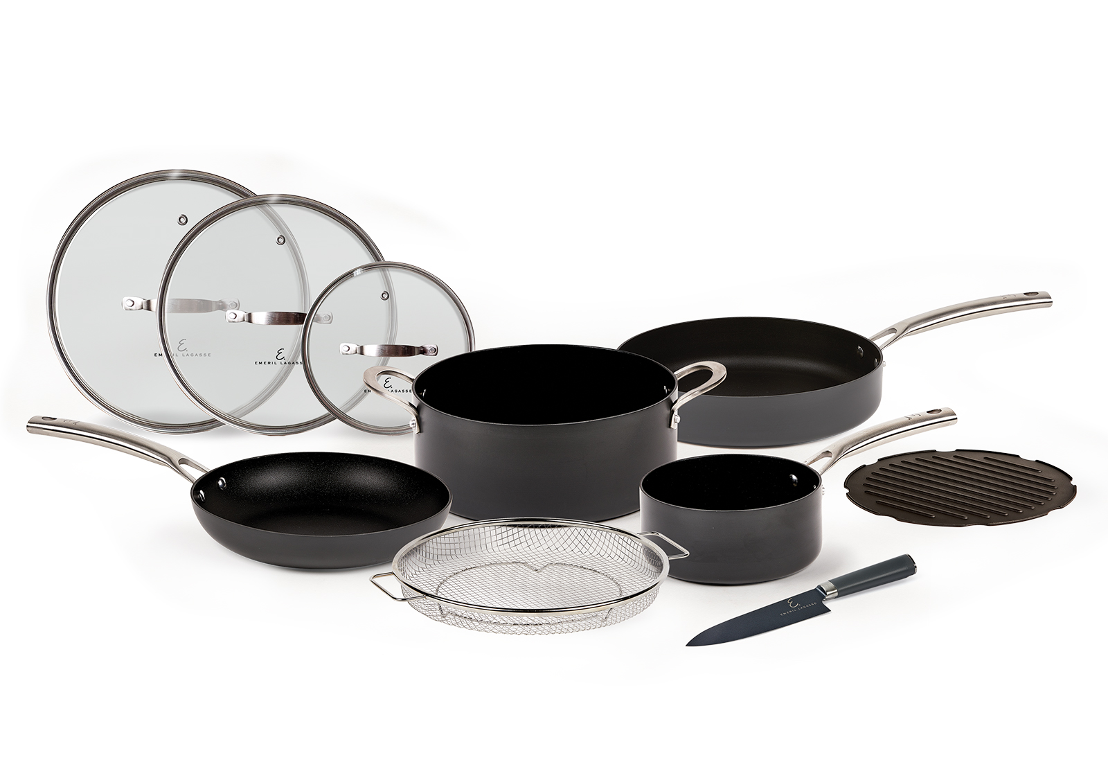 Emeril Everyday Forever Pans 10pc Set Product Image